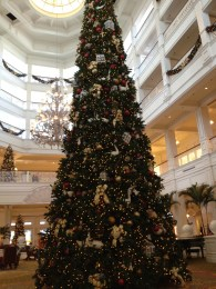 Grand Floridian tree downstairs
