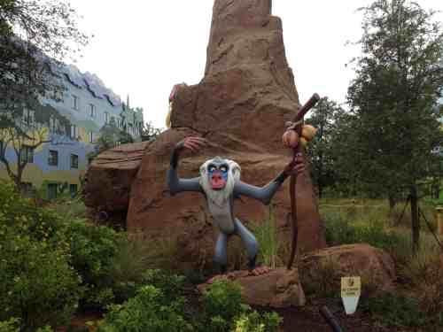 Disney's Art of Animation Resort Lion King Section