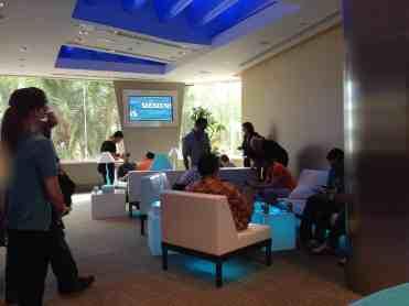 Siemens VIP Lounge Spaceship Earth Epcot