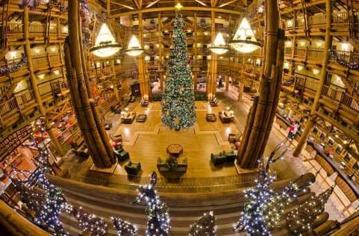 Wilderness Lodge Christmas Tree