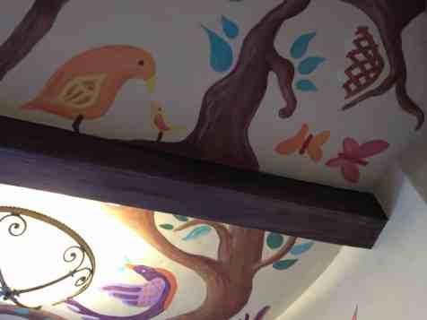 Tangled Rapunzel bathroom area