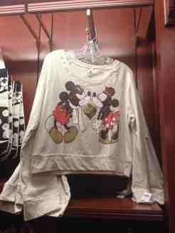 Mickey & Minnie Kissing Sweater