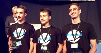 Τρίτη θέση στον τελικό του διεθνούς διαγωνισμού Odysseus Space Contest