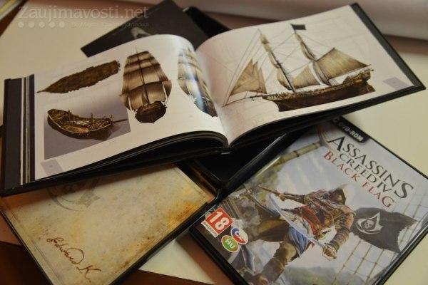 Assassin's Creed IV Black Flag a edice lebky se zajímavým obsahem