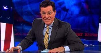Stephen Colbert David Letterman Late Night