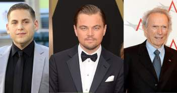 Leonardo DiCaprio Jonah Hill and Clint Eastwood