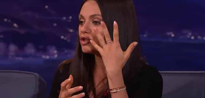 Mila Kunis Reveals She... Mila Kunis Etsy