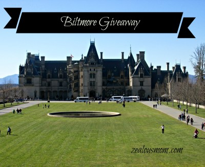 Spring at Biltmore Estate! Enter this giveaway to win two tickets. Two winners will be selected. #biltmore #giveaway
