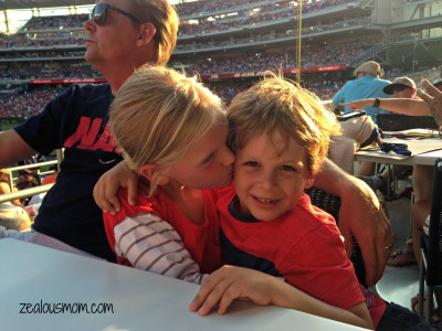 Wordless Wednesday: Take Me Out to the Ballgame -zealoiusmom.com #wordlesswednesday #parenting