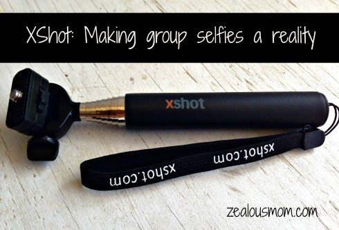 XShot: Making group selfies a reality! zealousmom.com #giveaway #photography