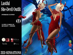 Lustful She-Devil FM Outfit