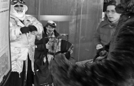 gesichtet #99: Skurrile Begegnungen an der Fasnacht