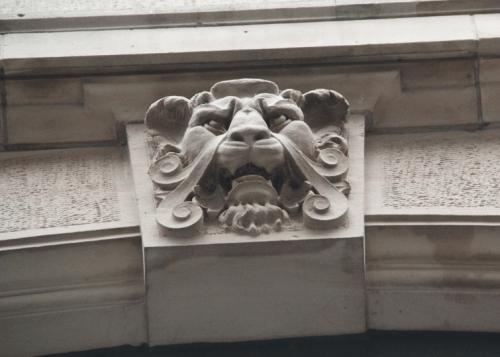 Löwenkopf Haus zur Rose