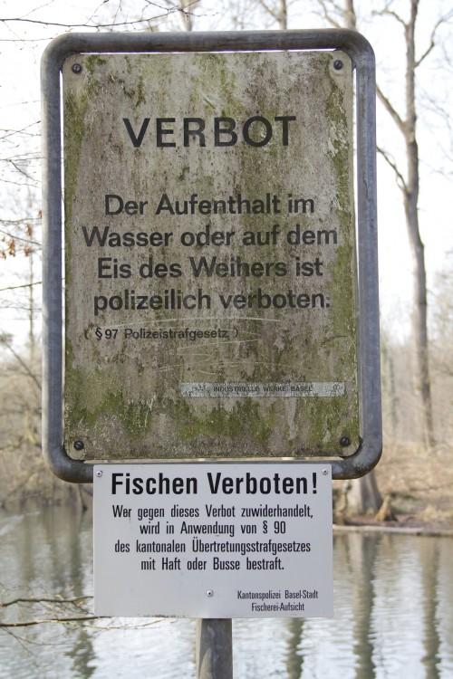Lange Erlen_Badeverbot