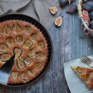 paleo fig & almond cake