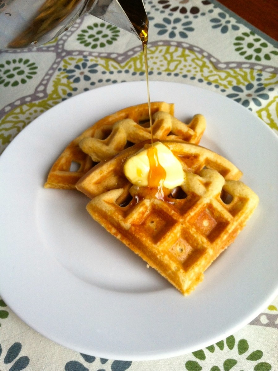 Grain-Free Waffles - UPDATED!