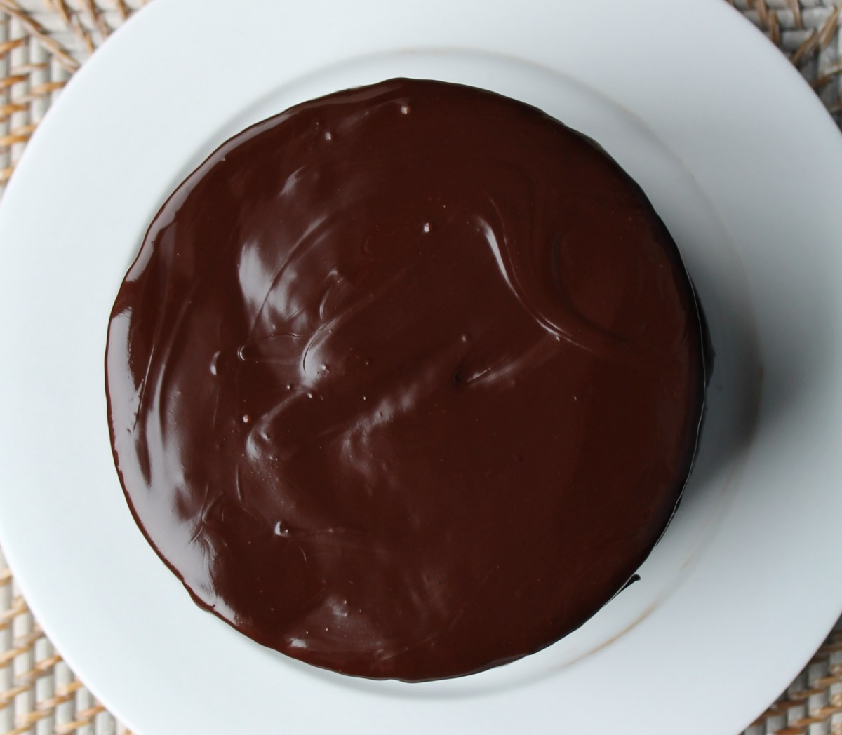 No Joke Dark Chocolate Cake
