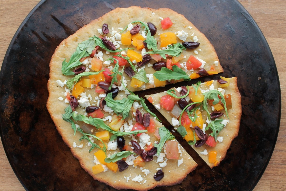 NY style paleo pizza crust. Yes, really.