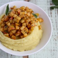 Sweet Potato Puree with Apples and Sage