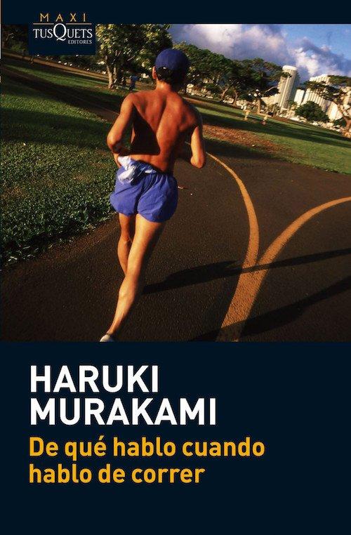 """Portada del libro """"De qué hablo cuando hablo de correr"""" de Haruki Murakami"""
