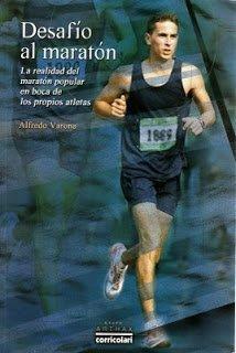 """Portada del libro """"Desafío al maratón"""" de Alfredo Varona"""