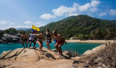 Jumping Fail avec Claire, Soazic et Hugo - Tayrona