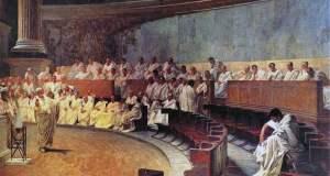 Senateurs romains