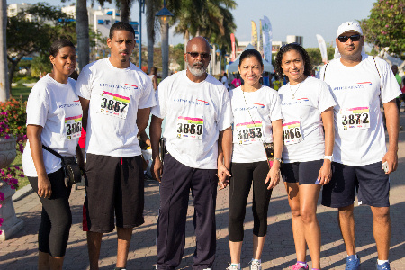 Kingston City Run sponsors British Airways fielded a team of runners for the charity race held last Sunday in the capital.