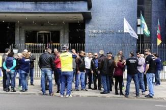 Servidores da segurança cobram da Justiça pagamento integral de salários Ronaldo Bernardi / Agência RBS/Agência RBS