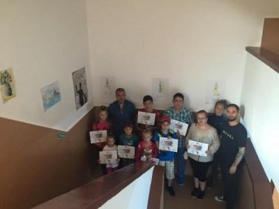 Expoziție de desen artistic la Zilele orașului Uricani