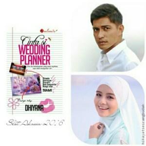 cinta si wedding planner, poster cerita cinta si wedding planner,