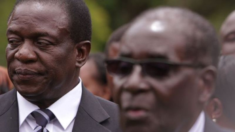 'We're watching you', Mnangagwa warns Mugabe
