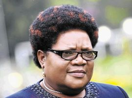 Opposition warns 'big sister' Mujuru