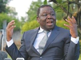 Tsvangirai flexes muscle