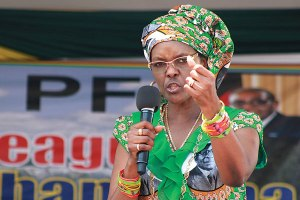 'Respect women,' Grace Mugabe says in first public statement after SA assault saga