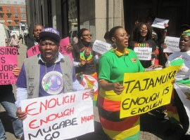 12 parties gang up on Mugabe