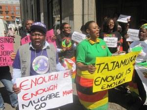 12 parties gang up on Mugabe