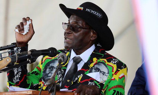 'Go and herd cattle,' Mugabe, 93, tells unemployed Zim youth