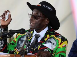 He's 93 and frail, but Mugabe pledges to carry on ruling