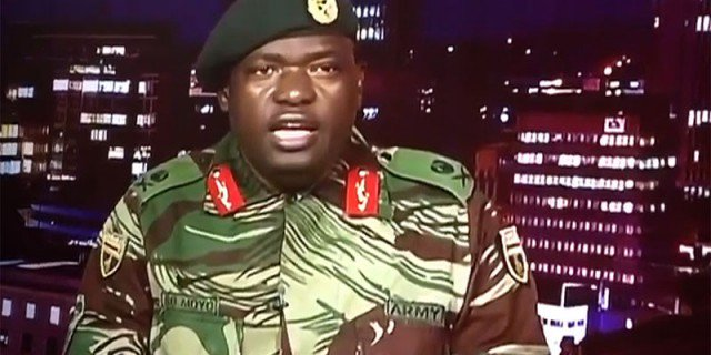 TRANSCRIPT: Zimbabwe military's statement after seizing power
