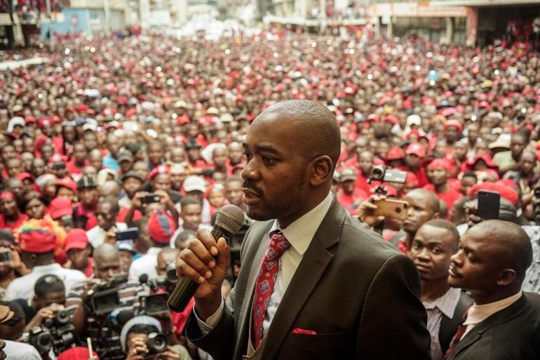 Chamisa to challenge Mnangagwa in Zim polls