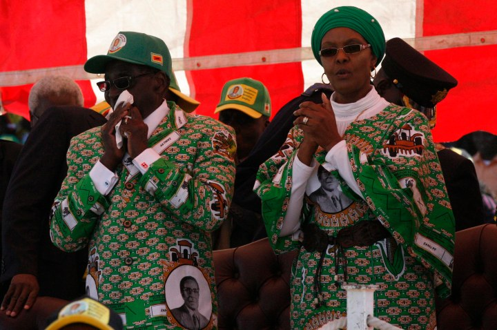 You Stole Sallys Husband Grace Mugabe Reminded. Grace Mugabe's First ...