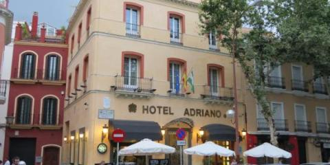 Adriano, hotel in the center of Seville