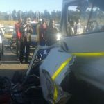 Pictures: 15 people killed in Harare Ruwa road accident today, Kombi-Car in horror crash