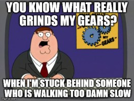 I can't stand it!