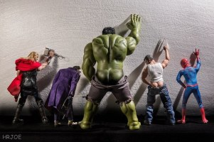 This Photographer Puts Superhero Toys Into Very Rude Poses