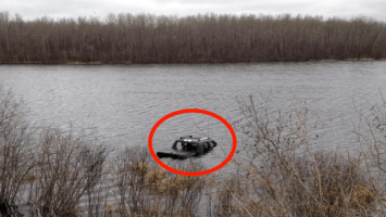 A Dog Was Trapped In A Submerged Truck With No Hope. But What You're About To See Is AMAZING.