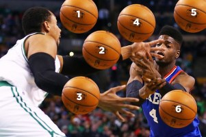 Which Basketball Wasn't Photoshopped?
