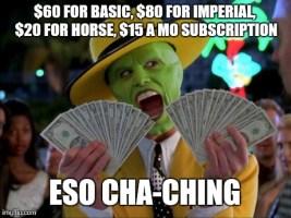 Elder scrolls online cash grab