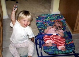 These 25 Kids Took Destruction To A New Level Of Insanity. OMG, #13... Poor Mommy.